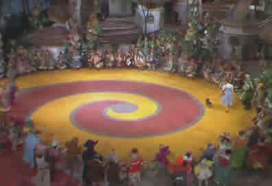 yellow brick road spiral